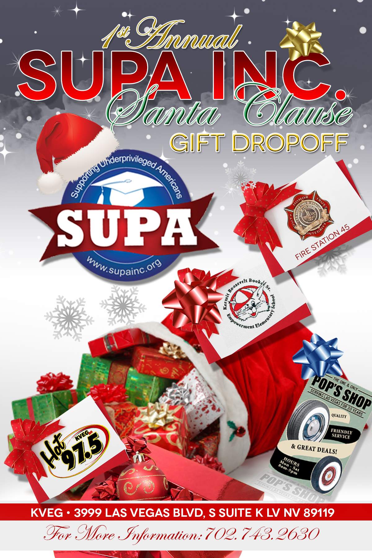 SUPA Christmas Gift Drop